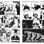 exercice de mise en scène de bande dessinée