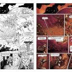 planche de bande dessinée colorisée