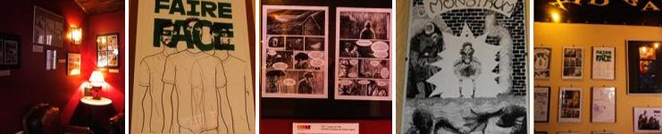 exposition de bande dessinée à Ménilmontant