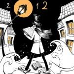 affiche de Tiphaine Gantheil, étudiante au Cesan, pour le salon du livre de Paris