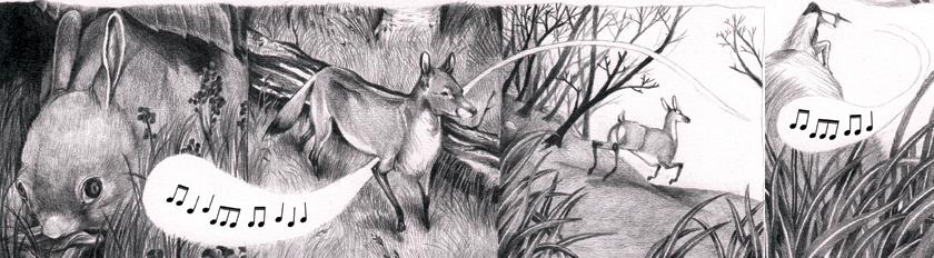 Illustration du Cesan des Ados par Margaux Sourisseau
